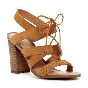 Franco Sarto - Leather Sandal, size 7.5.